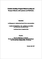 Process-based prediction of the long-term risk of groundwater ...